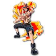 Фигурная интерьерная наклейка One Piece