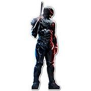 Фигурная интерьерная наклейка по аниме/манге RoboCop