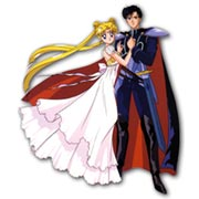 Фигурная интерьерная наклейка Sailor Moon