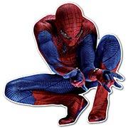 Фигурная интерьерная наклейка Spider-man