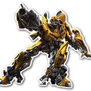 Фигурная интерьерная наклейка Transformers