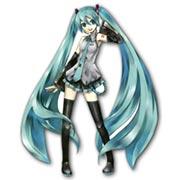 Купить фигурные интерьерные наклейки Vocaloid