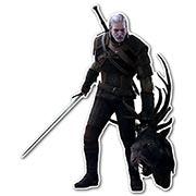 Фигурная интерьерная наклейка по аниме/манге Witcher