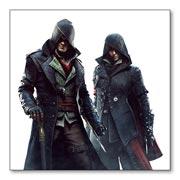 Магнит с металлическим отливом Assassin's Creed
