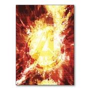 Магнит с металлическим отливом Avengers