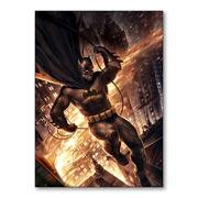 Магнит с металлическим отливом Batman