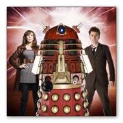 Магнит с металлическим отливом Doctor Who
