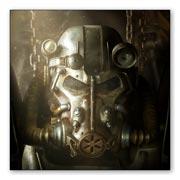 Купить магниты с металлическим отливом Fallout
