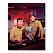 Магнит с металлическим отливом Star Trek