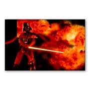 Магнит с металлическим отливом Star Wars