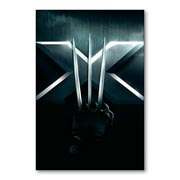 Магнит с металлическим отливом X-Men