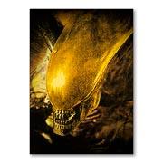 Универсальная наклейка Alien