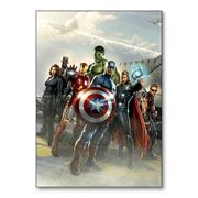Купить универсальные наклейки Avengers