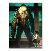 Купить универсальные наклейки Bioshock