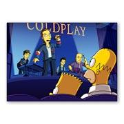 Купить универсальные наклейки Coldplay