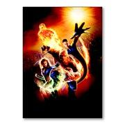 Универсальная наклейка Fantastic Four