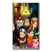 Универсальная наклейка Gravity Falls