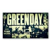 Универсальная наклейка Green Day