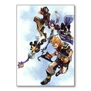 Купить универсальные наклейки Kingdom Hearts