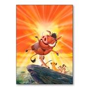 Универсальная наклейка Lion King