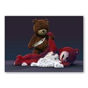 Купить универсальные наклейки Naughty Bear
