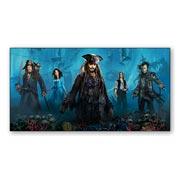 Купить универсальные наклейки Pirates of the Caribbean