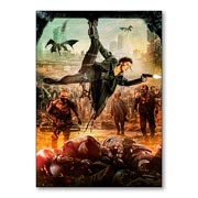 Универсальная наклейка Resident Evil