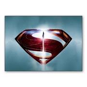 Универсальная наклейка Superman