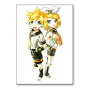 Купить универсальные наклейки Vocaloid