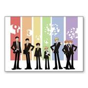 Набор стикеров Ouran High School Host Club