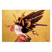 Купить прямоугольные интерьерные наклейки Fudegami art