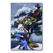 Купить прямоугольные интерьерные наклейки Gintama
