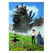 Купить прямоугольные интерьерные наклейки Howl's Moving Castle