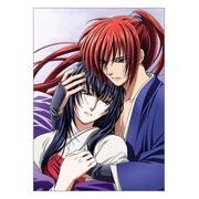 Купить прямоугольные интерьерные наклейки Rurouni Kenshin