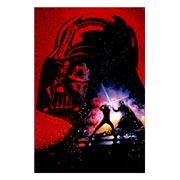Прямоугольная интерьерная наклейка Star Wars