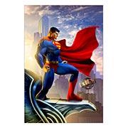 Купить прямоугольные интерьерные наклейки Superman