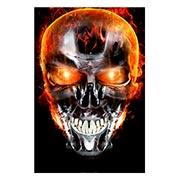 Прямоугольная интерьерная наклейка Terminator