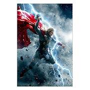 Прямоугольная интерьерная наклейка Thor