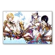 Купить прямоугольные интерьерные наклейки Tukiji Nao Art