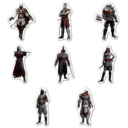 Купить наборы мобильных наклеек Assassin's Creed