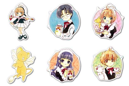 Купить наборы мобильных наклеек Card Captor Sakura