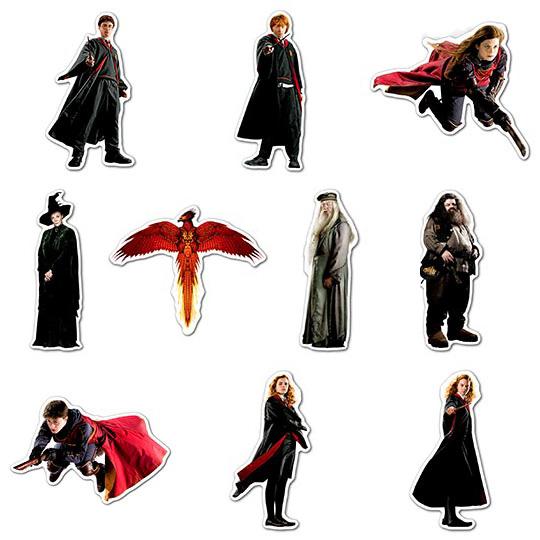 Купить наборы мобильных наклеек Harry Potter