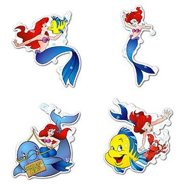 Купить наборы мобильных наклеек Little Mermaid
