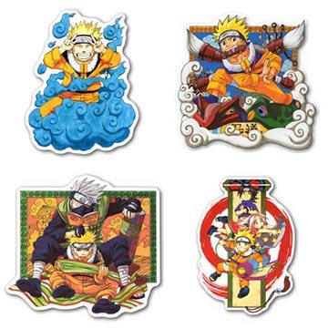 Купить наборы мобильных наклеек Naruto