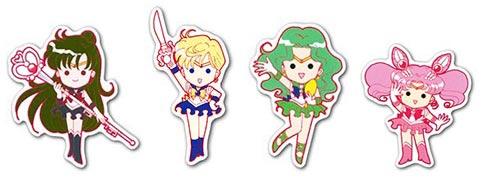 Набор мобильных наклеек Sailor Moon