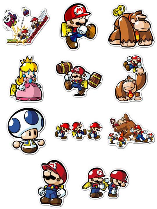 Купить наборы мобильных наклеек Mario