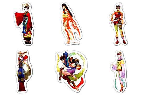 Купить наборы мобильных наклеек Okazaki Takeshi Art