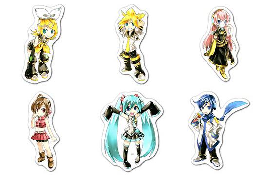 Купить наборы мобильных наклеек Vocaloid