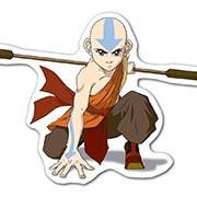Купить прозрачные наклейки Avatar: The Last Airbender
