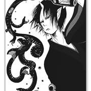 Прозрачная наклейка Hoozuki no Reitetsu